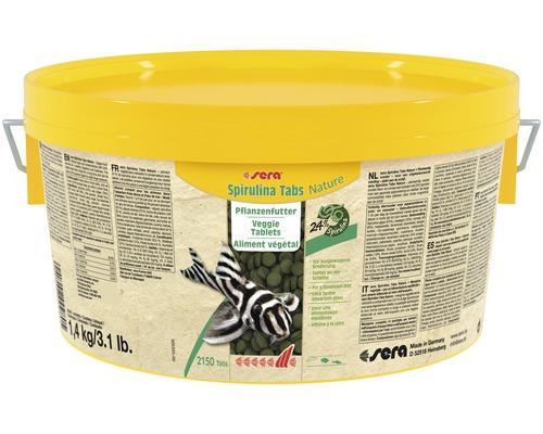 Fischfutter sera Spirulina Tabs Nature 1,4 kg
