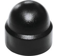 Cache pour vis six pans rond 6 mm noir 50 unités-thumb-0