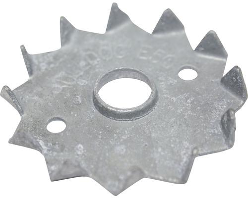 Holzverbinder Einpressdübel einseitig 50 mm für M10 feuerverzinkt, 10 Stück