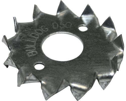 Holzverbinder zweiseitig 62 mm feuerverzinkt, 10 Stück