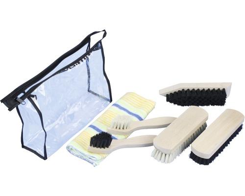 Kit de nettoyage pour chaussures Bümag, 6 pièces