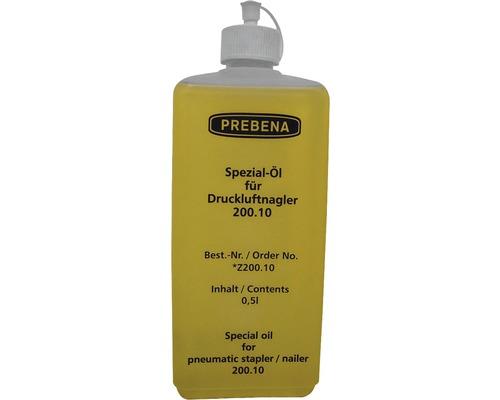 Huile spéciale pour cloueuse pneumatique Prebena 0.5 l