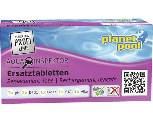 Comprimés pour tester le pH/chlore, 9 comprimés