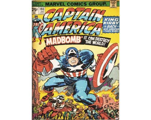 Tableau sur toile Marvel Captain America 50x70 cm