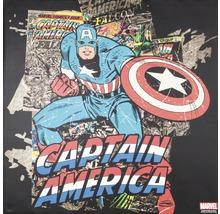 Image sur toile Marvel, Captain Amercia Black 70x70 cm-thumb-0