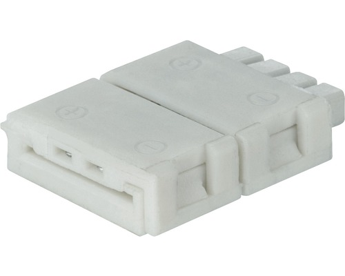 Connecteur YourLED Eco Clip to Connector 2 pièces blanc 12V