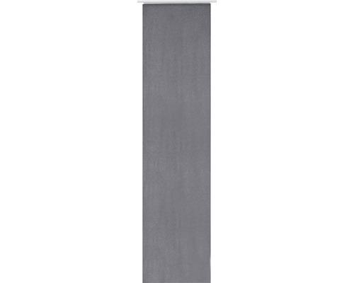 Schiebegardine Lino 17 anthrazit 60x245 cm