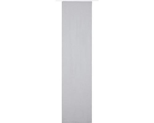 Schiebegardine Lino 07 grau 60x245 cm