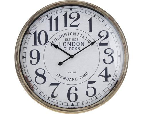 Horloge murale en métal Ø 50 cm