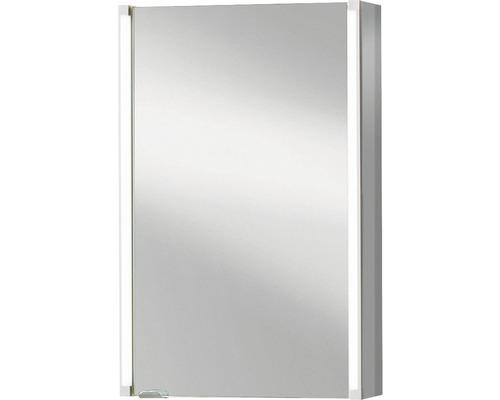 Spiegelschrank basano Salenta 42x67x16,5 cm grau 1 türig rechts oder links montierbar IP 20