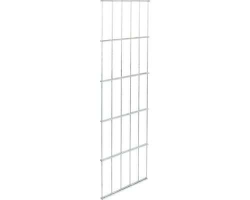 Clôture à grillage double GAH Alberts 6/5/6, 25x80 cm galvanisé à chaud