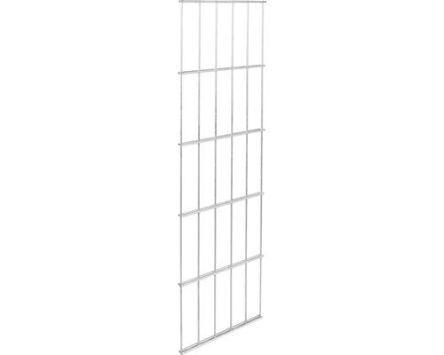 Clôture à grillage double GAH Alberts 6/5/6, 25x100 cm galvanisé à chaud