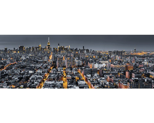 Panneau décoratif The City 48x138 cm