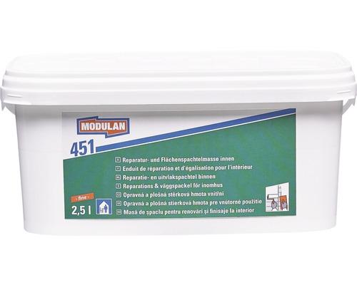 Enduit de réparation / enduit de surface MODULAN 451 intérieur fin 2,5 L