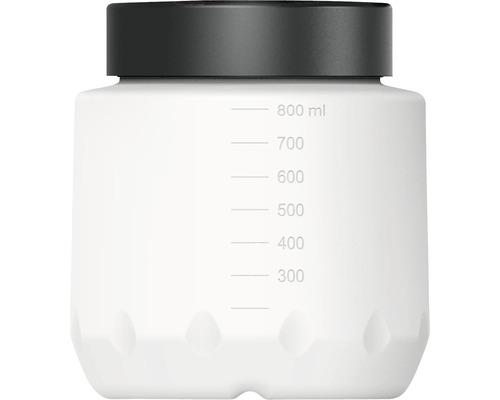 Réservoir de peinture 800 ml avec couvercle pour appareil de pulvérisation de peinture Pattfield PE 500 SP
