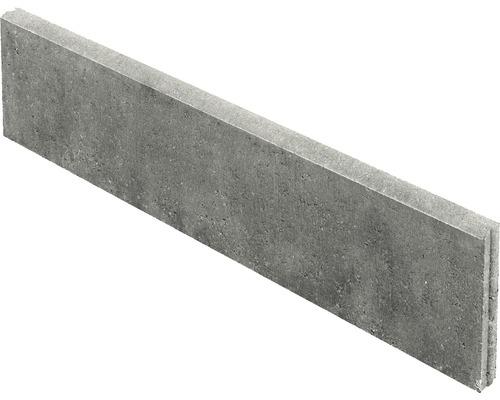 Bordure pour gazon de gazon grise 100x25x5cm