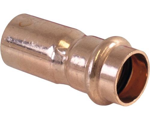 Raccord à compression Viega Sanpress avec contour SC raccord de réduction 28x18mm 296384-0