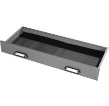 Tiroir Küpper argent à effet martelé 963x120x420 mm pour établi-thumb-0