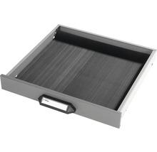Tapis de caoutchouc pour tiroir haut 6.5 cm noir-thumb-0