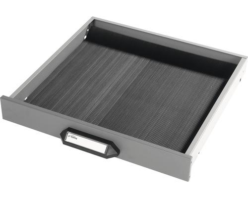 Tapis de caoutchouc pour tiroir haut 6.5 cm noir-0
