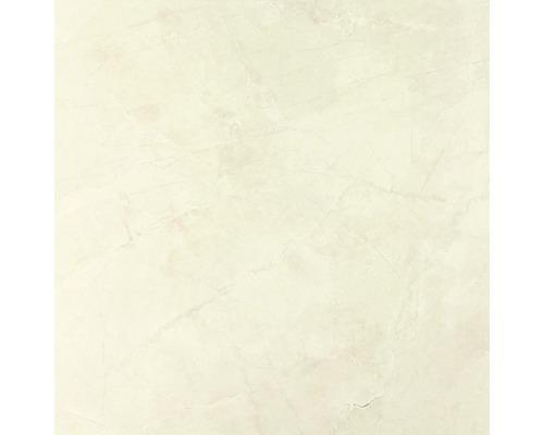 Carrelage pour mur et sol en grès cérame fin, marbre Premium, beige 80x80 cm-0
