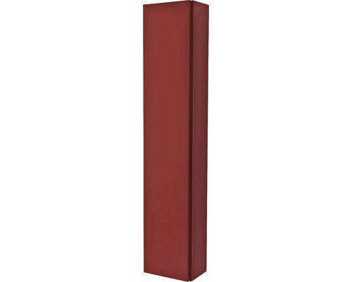 Armoire suspendue 200x100x14 cm rouge à haute brillance-0