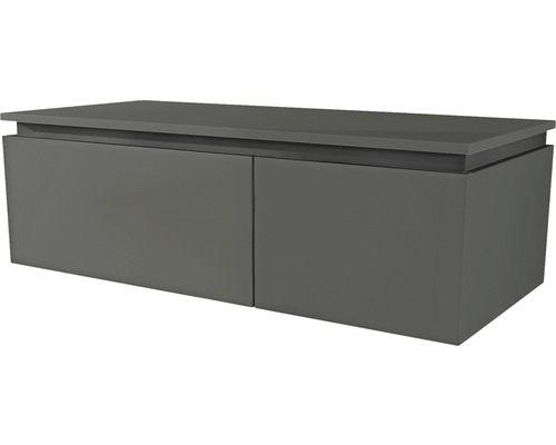 Commode Avril 100x32x40 cm gris-0