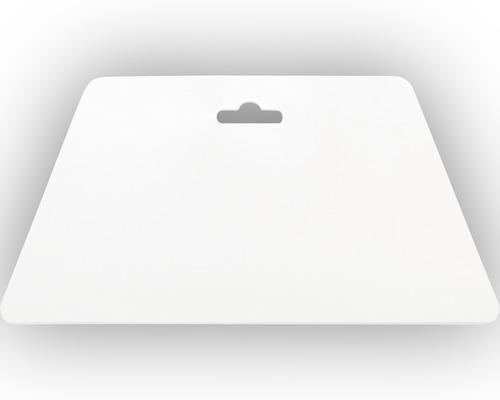 Spatule pour papier peint, blanche 23cm