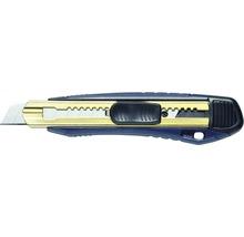 Couteau à lame professionnel, bleu/argent 18 mm-thumb-0
