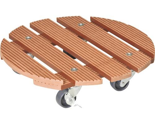 Chariot de plante WPC Ø29cm charge 100kg
