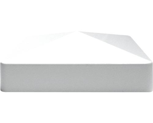 Couvre poteau, 8,7x8,7 cm, blanc