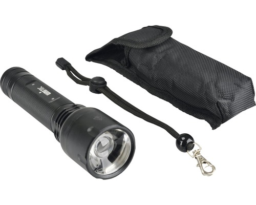 Lampe de poche à LED Blackline PRO200Z noire