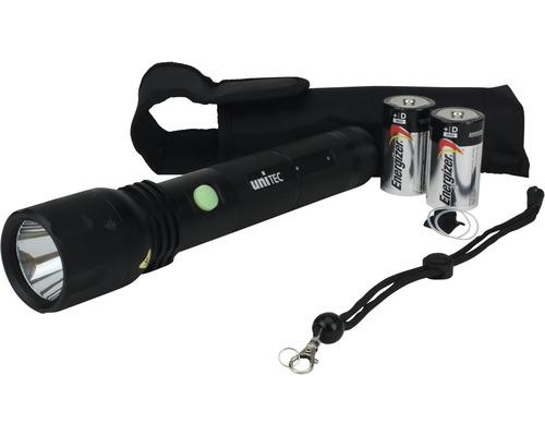 Lampe de poche à LED Blackline PRO600 noire