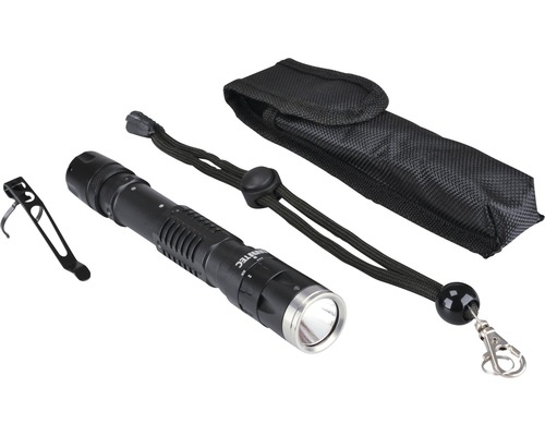 Lampe de poche à LED Blackline PRO200F noire