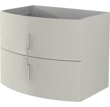 Meuble sous-vasque Sting 69 cm gris nature-thumb-0