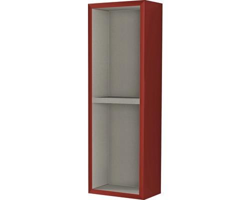 Étagère 20x60x12 cm rouge à haute brillance