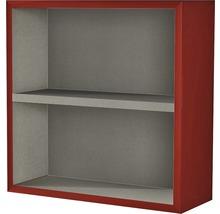 Étagère 40x40x15 cm rouge à haute brillance-thumb-0