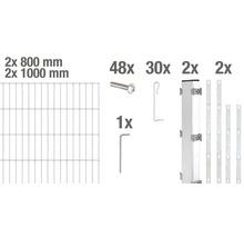 Kit de base pour clôture gabions GAH Alberts Step2 à visser 200x180 cm galvanisé à chaud-thumb-4