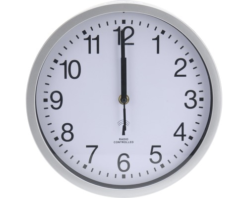 Horloge murale blanche Ø 30cm