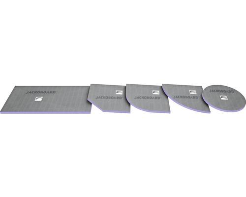 JACKOBOARD Aqua befließbares Duschelement 1800x900x40mm Ablauf zentral