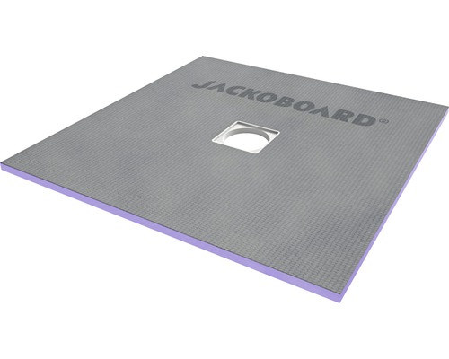 JACKOBOARD Aqua Flat befließbares Duschelement für Holzbalkendecken 1200x1200x20mm