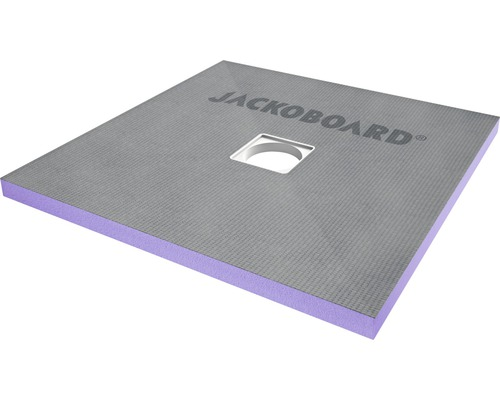 JACKOBOARD Aqua Solid befließbares Duschelement 900x900x40mm mit hochdruckfester Beschichtung