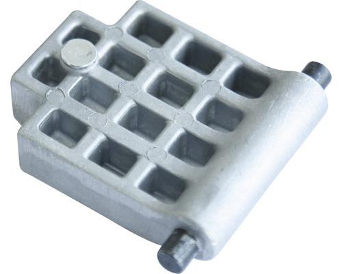 Plaque de pression/contre-plaque pour broyeur silencieux Mac 2500 ELH, Mac 2500 CH 8077282 8077283