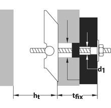 Fixation pour lavabo Oase Spagat Pro M10 Tox, 10 pièces-thumb-1