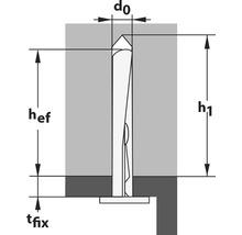 Clou pour plafond Top Tox Ø 6x35 mm, 100 pièces-thumb-2