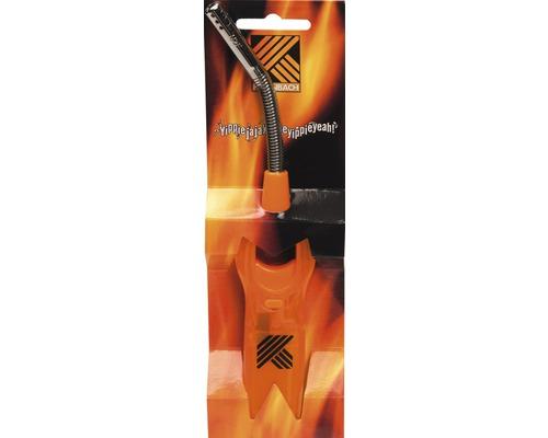 Allume-feu long HORNBACH, noir-orange
