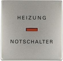 Bascule d''interrupteur avec calotte et impression chauffage Busch-Jaeger Pur inox 1789 H-866-thumb-0