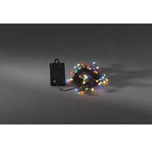 Guirlande lumineuse Konstsmide globe extérieur et intérieur fonctionne sur batterie 40 multicolore avec fonction minuteur-thumb-1