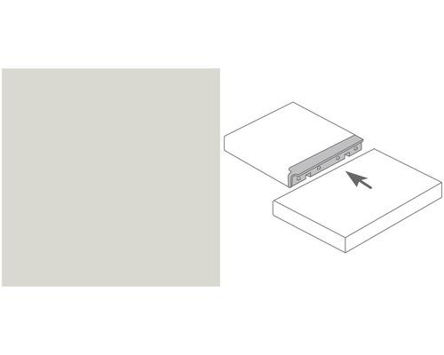 Arbeitsplatten Eckverbindungsleiste Alu silber Profil 133 600x40 mm