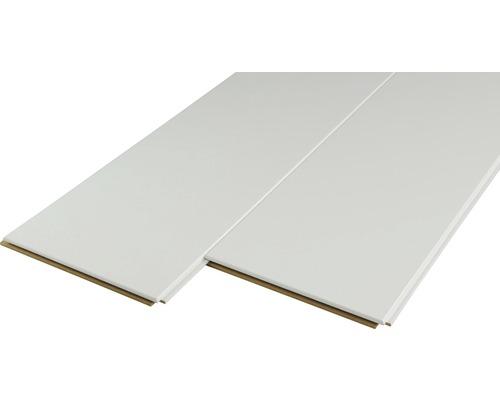 Panneau décoratif Quadro Plus uni blanc 12x200x2000mm